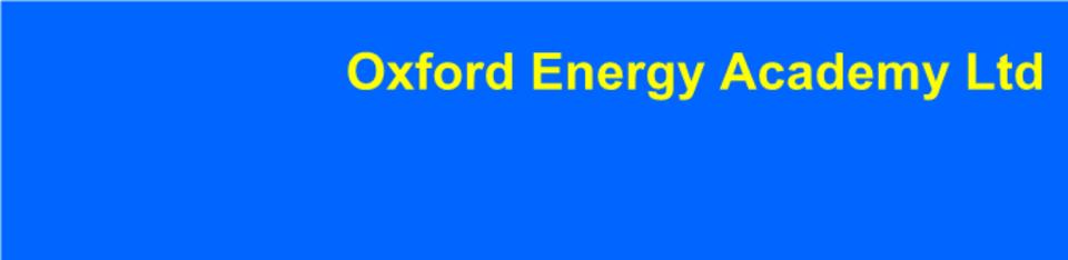 Oxford Energy Academy Ltd - Home